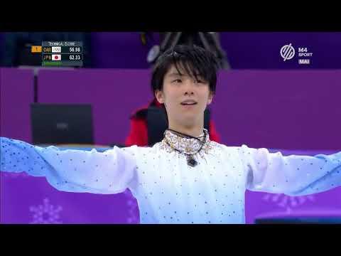 Yuzuru Hanyu - 2018 Winter Olympic Games Short Program (M4 Sport)