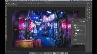 photoshop講座【超初心者向け】「1min. Photoshopで写真をSFサイバーパンク風に加工する方法」をやってみました。 thumbnail