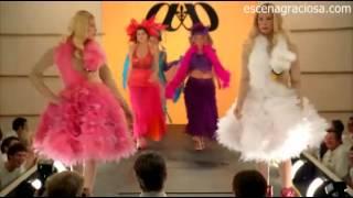 Escena Graciosa de ¿Y dónde están las Rubias? ( White Chicks)-Desfile de modas