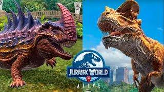 5 Динозавров Гибридов Атакуют!  Jurassic World Alive