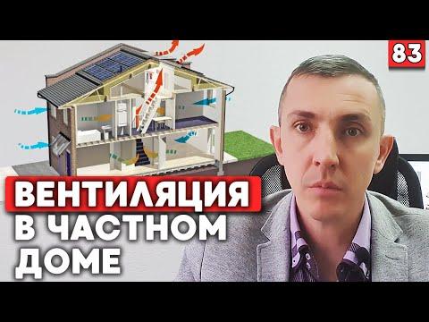 Как сделать вентиляцию в частном доме?   Проект вентиляции в доме 180 кв.м.