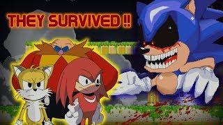 Sonic.exe: The Spirits of Hell | THEY SURVIVED THE NIGHTMARE [BEST ENDING]