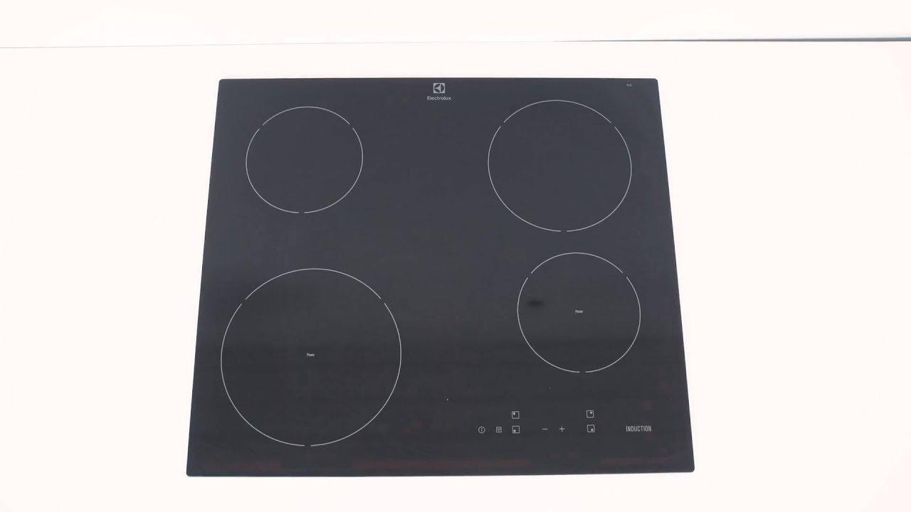 Inredning induktionshäll test : Electrolux HOI620S Induktionshäll - YouTube