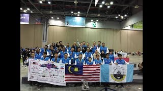 Malaysia wins two gold at Korea's robotics competition