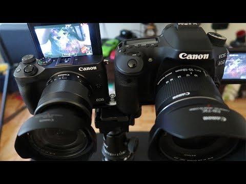 Canon M6 vs Canon 80D