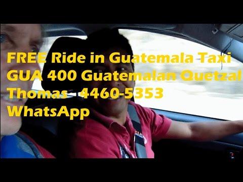 Thomas 54 Dollar Taxi Guatemala Airport to Lake Atitlan