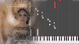 Alffy Rev - Beautiful we are (ft. Hanin Dhiya) (Darmayuda MIDI Piano)
