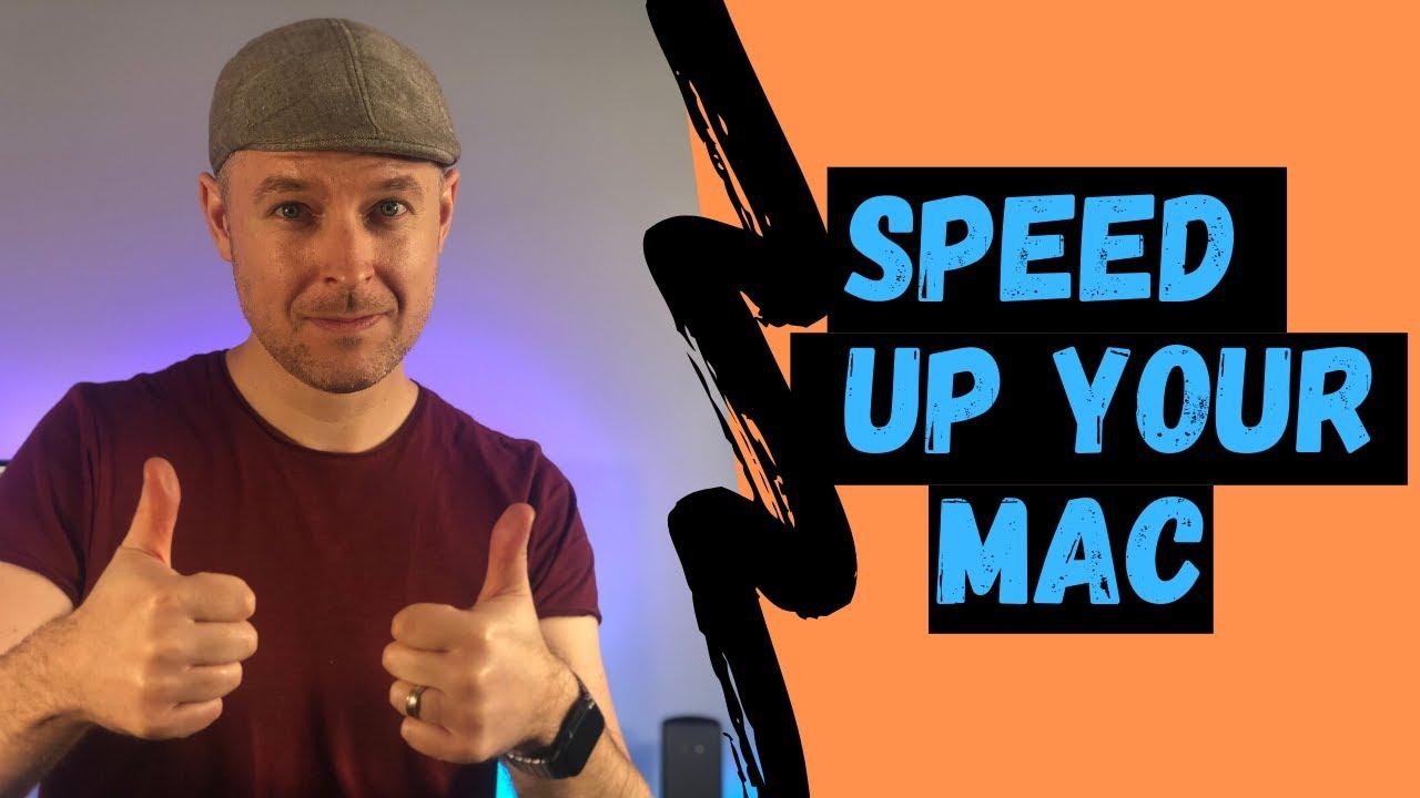 How To Speed Up Your Mac Running Macos Sierra 1012   Video Tutorial 2016