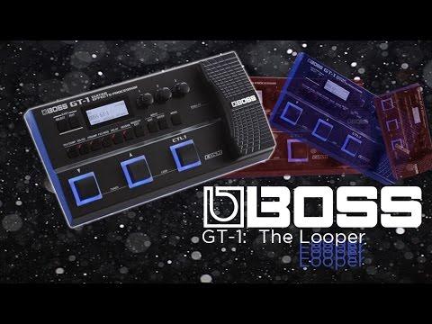 boss gt 1 the looper youtube. Black Bedroom Furniture Sets. Home Design Ideas