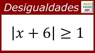 DESIGUALDADES CON VALOR ABSOLUTO - Caso 4