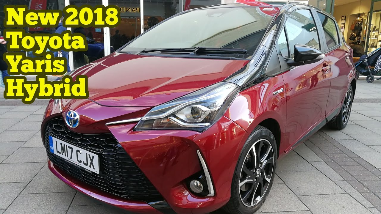 new 2018 toyota yaris hybrid youtube. Black Bedroom Furniture Sets. Home Design Ideas