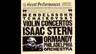 Isaac Stern - Tchaikovsky Violin Concerto in D Major, Op. 35 - I Mov. Allegro Moderato (pt.1)