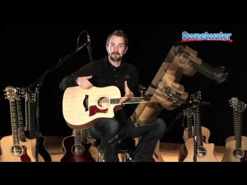 Taylor Guitars 400 Series Acoustic Guitar Demo - Sweetwater Sound