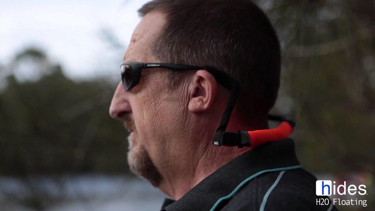 8f97f9de8c9 H2O FLOATING Sunglass Strap - YouTube