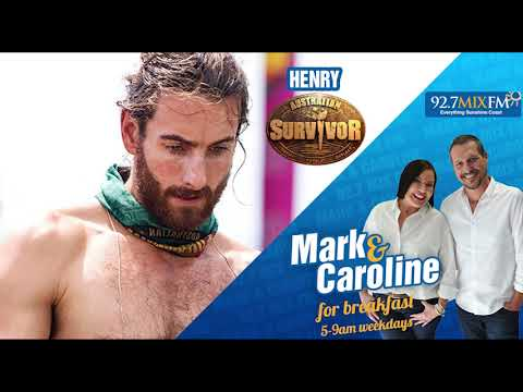"Henry from Australian Survivor ""I've been re-living that moment for weeks""- 92.7 Mix FM"