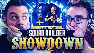 squad builder showdown with tots 98 ibrahimovic vs aj3 fifa 16 ultimate team