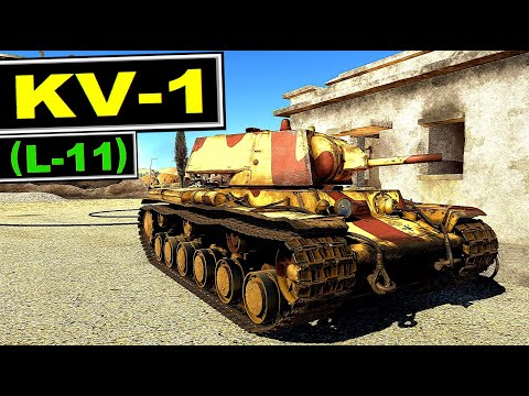 There is a reason why so protected  soviet tank has low battle rating ▶️ KV-1 (L-11)