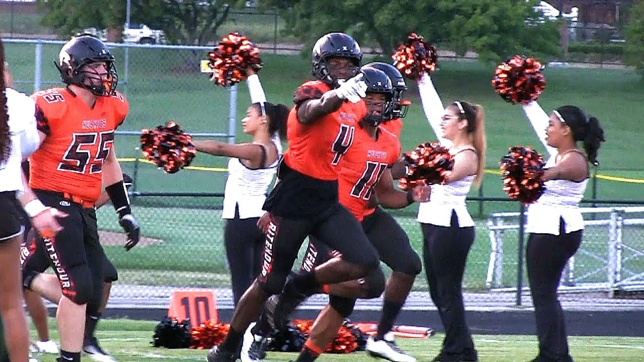 Ritenour Football VS Parkway North!! Game Goes Down To The Wire! Full Highlight