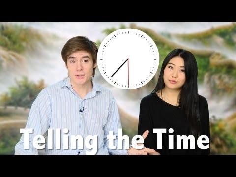 Học tiếng Hoa chủ đề 1: Hỏi giờ (kèm theo 301 câu đàm thoại)