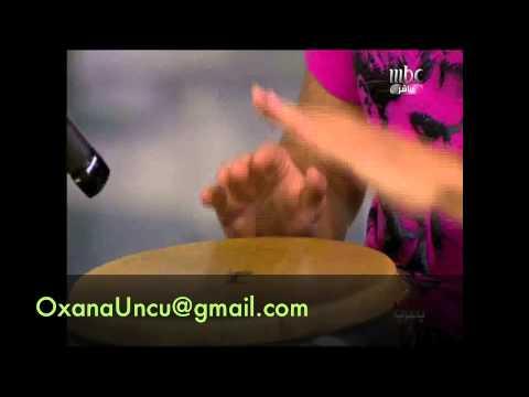 Omar Khairat Piano Drum Cover. Live at MBC Studios in Dubai Oxana & Khladun