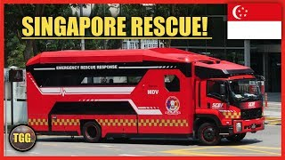 [Singapore] Special Emergency Vehicles!