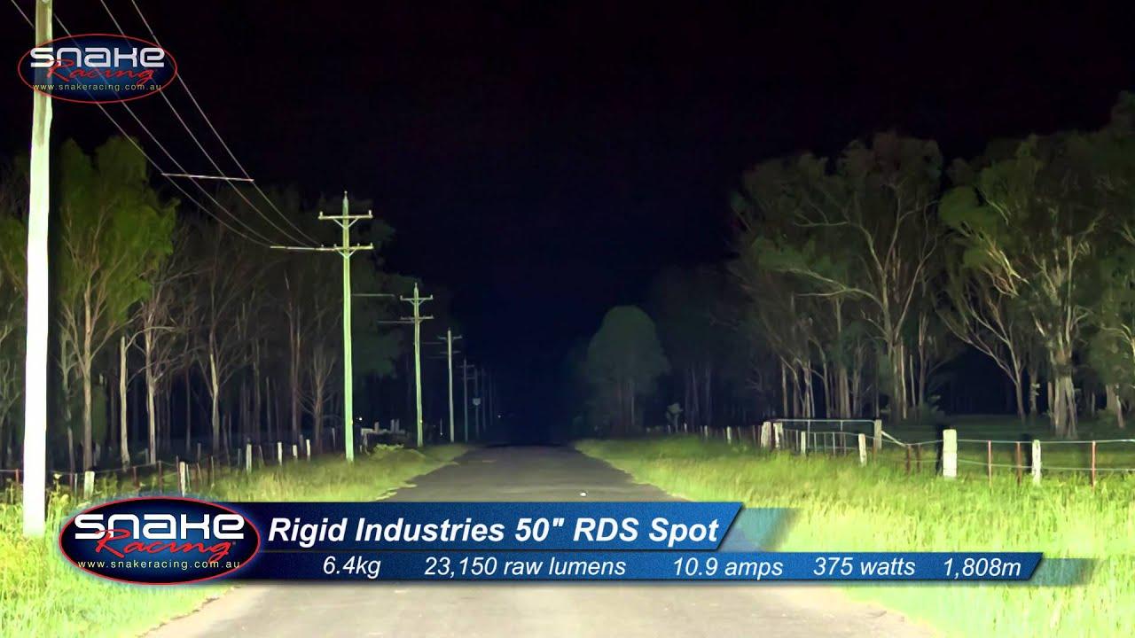 Rigid industries 50 curved led vs china copy snake racing youtube aloadofball Choice Image