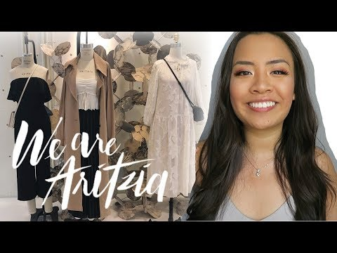 HOW I GOT A JOB AT ARITZIA