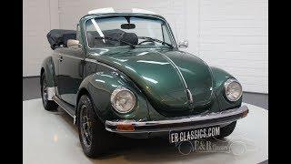 Volkswagen Beetle 1303 LS Convertible 1975 -VIDEO- www.ERclassics.com
