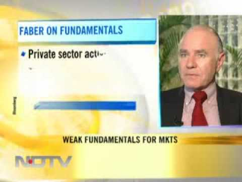 Marc Faber on New Delhi Television India, September 1, 2009