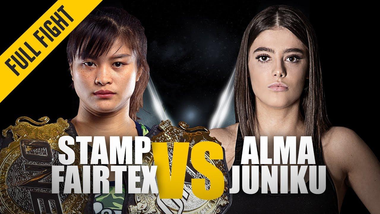 Download Stamp Fairtex vs. Alma Juniku | ONE Full Fight | Thrilling Muay Thai Duel | June 2019