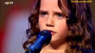Шоу талантов в Голландии- Красивая маленькая девочка невероятно поет! Аж мурашки по коже!