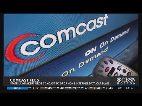Massachusetts Lawmakers Urge Comcast To Drop Home Internet Data Cap Plan