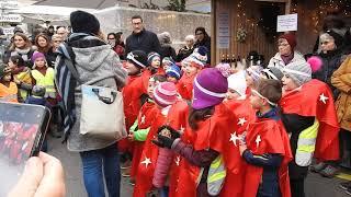 クリスマスソングを歌うスイスの子供たち Children singing Christmas song 2018 1214