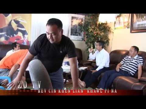 ZO TV INTERNATIONAL, Rev Cin Khen Lian , UZO Fort Wayne ten kawlpi na