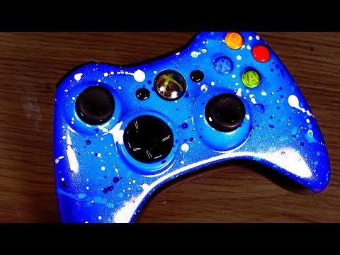 Custom Modding my Xbox Controller - SHINY!