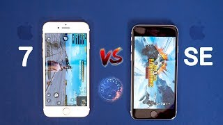 iPhone SE 2020 vs iPhone 7 SPEED Test - Wow...