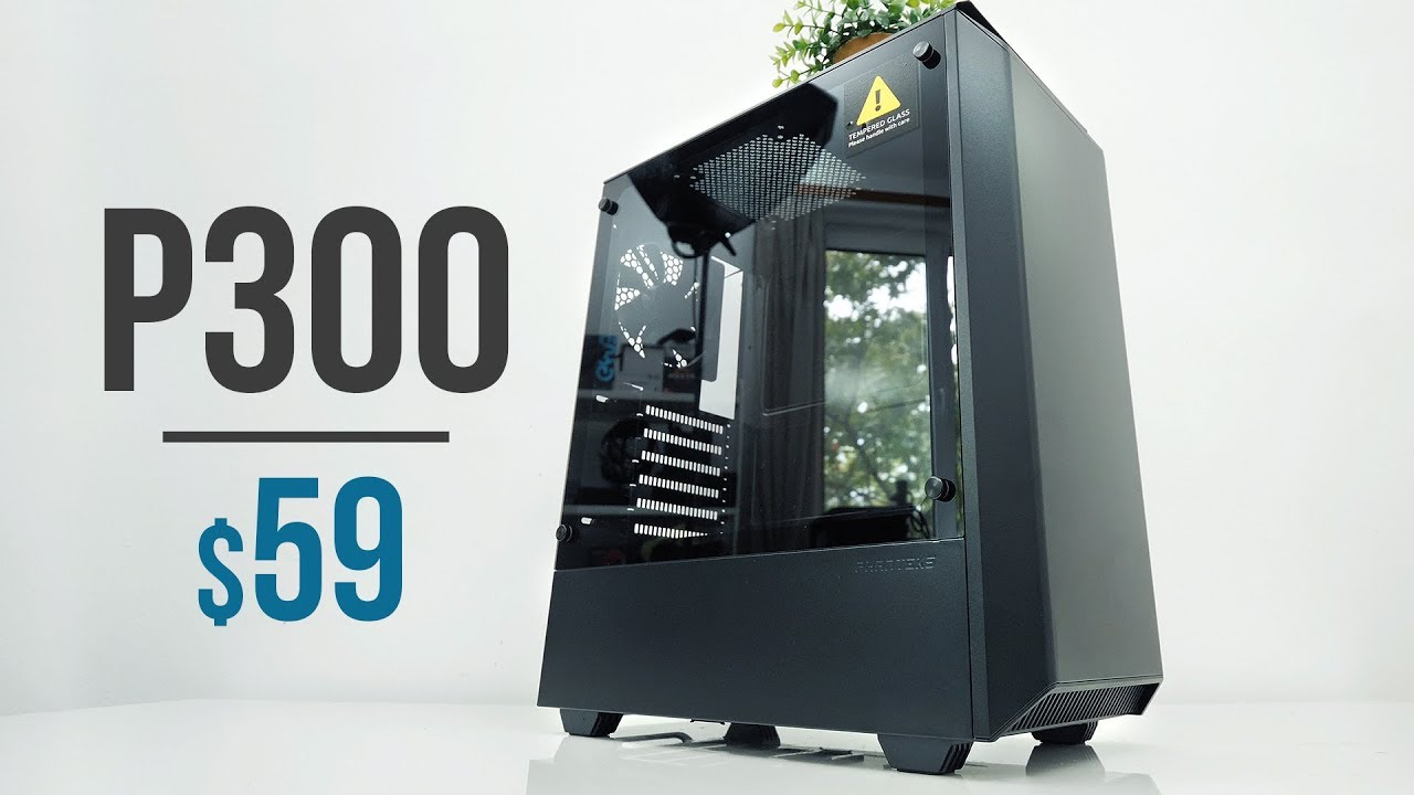 Phanteks Eclipse P350X: new cheap Computer case with