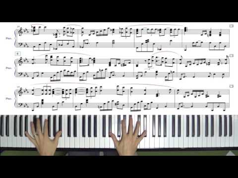 The Christmas Song Solo Jazz Piano Arrangement with Sheet Music
