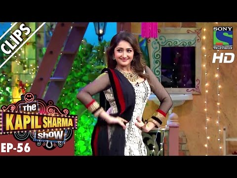 Kapil Dances With Sayyeshaa Saigal -The...