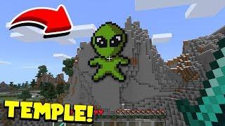 Minecraft : I Found The TEMPLE OF ALIENS(Ps3/Xbox360/PS4/XboxOne/PE/MCPE)