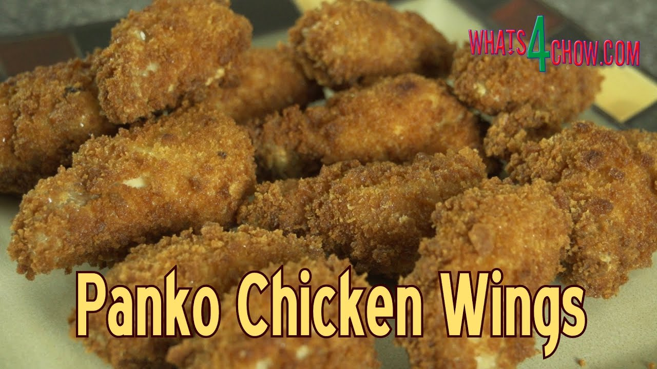 Panko Chicken Wings How To Make Crispy Deep Fried Panko Chicken Wings At Home