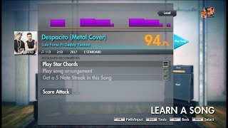 Luis Fonsi Ft Daddy Yankee- Despacito Metal Cover (By sixteenagers) (LEAD) Rocksmith 2014 CDLC