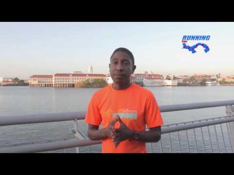 Entrevista previo a Boston Marathon 2017 con Oscar Carrasquilla - Panamá 13 abril 2017