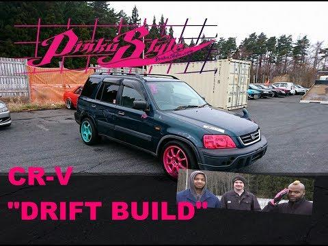 "Pinku Style Honda CR-V 1 Day ""Drift Build"" - GC8 Pickup"