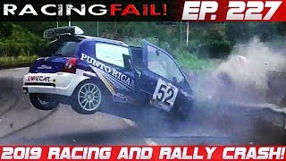 Racing and Rally Crash Compilation 2019 Week 227