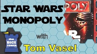 Star Wars Monopoly Review - with Tom Vasel
