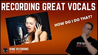 Download Recording Vocals - How to Record Vocals - How To Achieve Professional Vocals MP3 song and Music Video