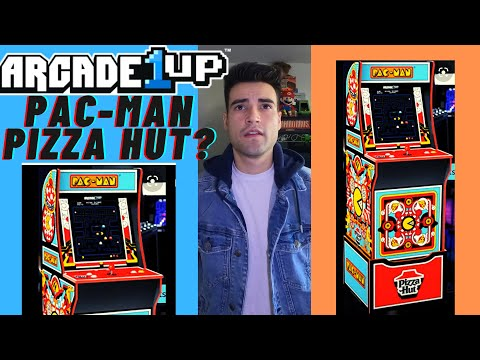 ARCADE1UP RELEASING A PAC MAN PIZZA HUT CABINET? from Brick Rod