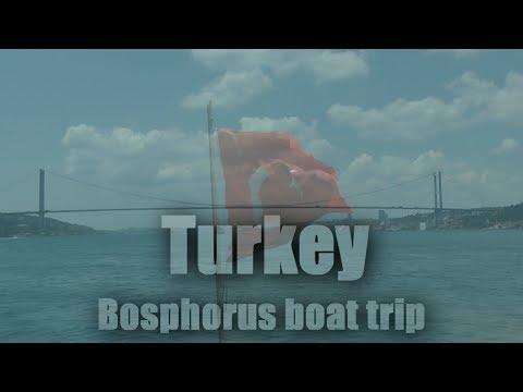 Turkey, Bosphorus boat trip 1080/60p
