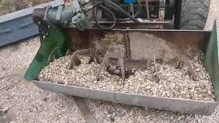 миксер для бетона на минипогрузчик своими руками